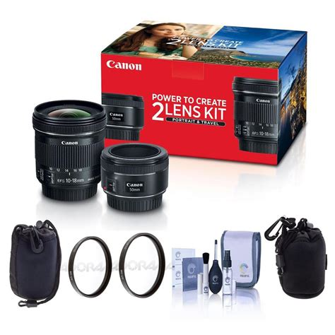 canon and lens deal canon 2 lens kit w ef 50mm f 1 8 stm ef s 10