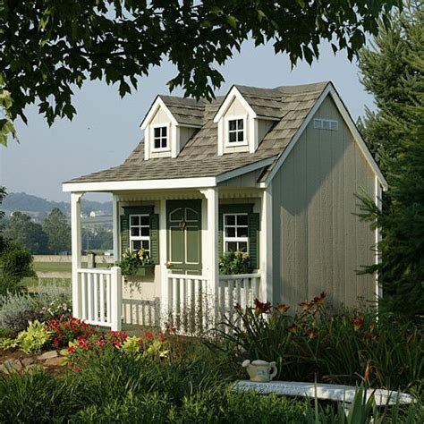 backyard cottage playhouse contemporary outdoor