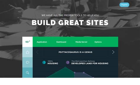 20 free html landing page templates built with html5 and