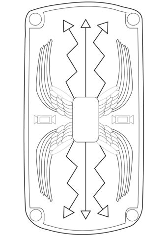 shield template to print shield coloring page free printable coloring pages