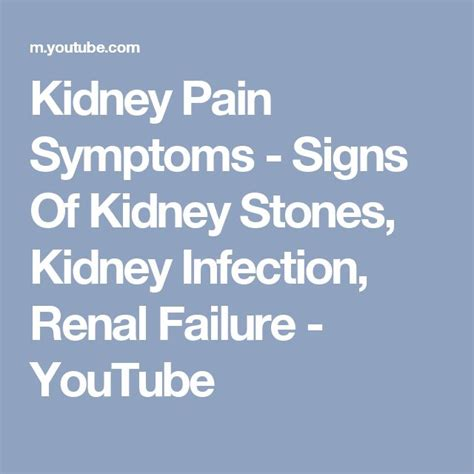 Signs That A Kidney Detox Is Working by Best 25 Signs Of Kidney Infection Ideas On