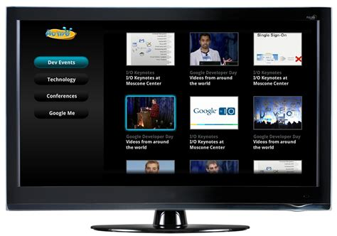 Google Releases A Couple Of Website Templates To Spur Google Tv Development Softpedia Web Tv Template