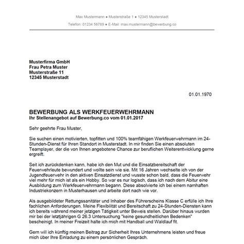Bewerbungsschreiben Ausbildung Feuerwehr bewerbungsschreiben feuerwehr bewerbung deckblatt 2018