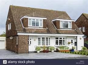 Semi Detached House dormer windows on a semi detached house in england uk