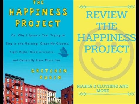 review libro quot the happiness project quot gretchen rubin youtube linkis com