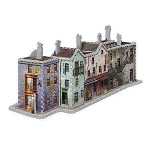 puzzle 3d harry potter chemin de traverse wrebbit 3d