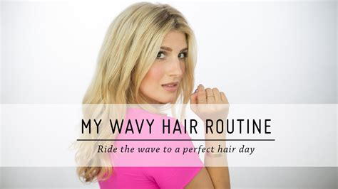 hair and makeup youtube channels my wavy hair routine hair tutorial diy beauty mr