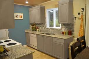 Kitchen Cabinets For Small Kitchens Small Kitchen Interior Featuring Gray Kitchen Cabinet Designs
