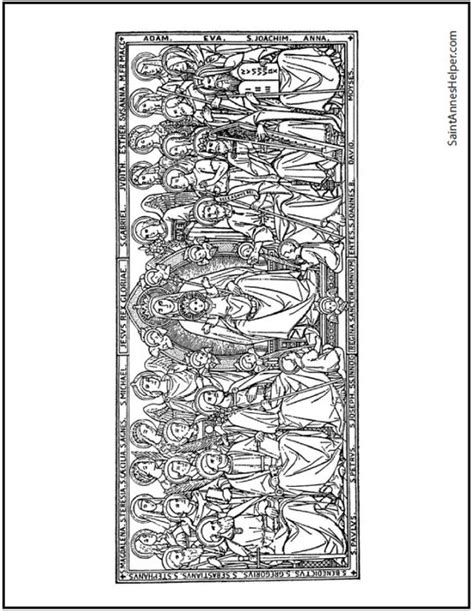coloring book removed beautiful all saints day coloring page black removed