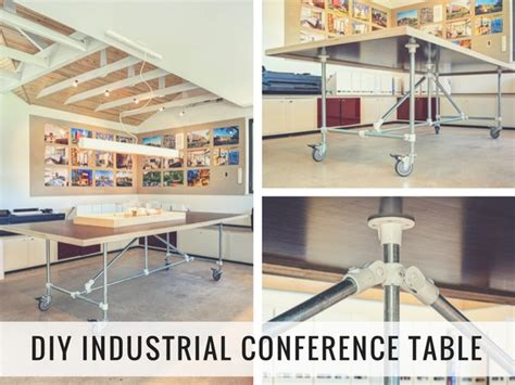 Diy Conference Table Diy Industrial Conference Table How To Build Your Own