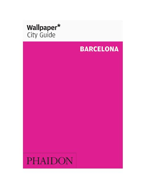 wallpaper barcelona phaidon hotel cotton house press