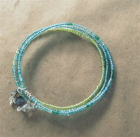 bead bracelets diy wobisobi seed bead bangle bracelet diy