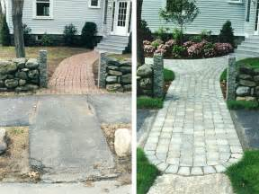 landscape design before after