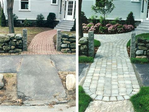 landscape design before after