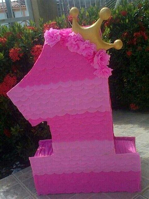 Pinata Princess 1 pi 241 ata n 250 mero 1 con corona princesa ideas mili corona