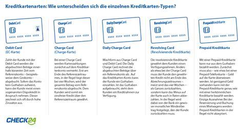 kreditkarte ohne gebühren im ausland kreditkartenarten im vergleich check24