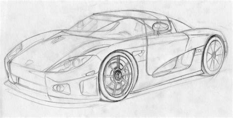 koenigsegg ccx drawing koenigsegg ccx sketch by gjaf on deviantart