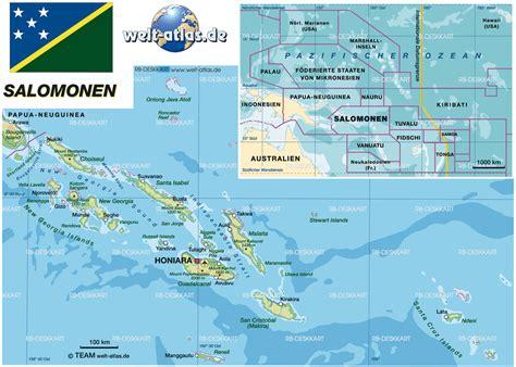 solomon islands map map of solomon islands map in the atlas of the world world atlas