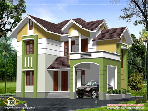 Simple two story house 2 story home design styles contemporary 2
