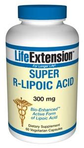 R Lipoic Acid For Detox by R Lipoic Acid Alpha Lipoid Acid 60 Veg Caps