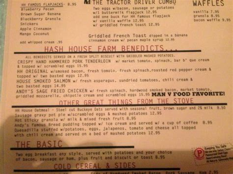 Hash House A Go Go Prices by Hash House A Go Go Menu Kuva Hash House A Go Go Las