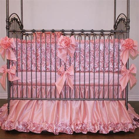 elegant crib bedding isabella jewel rosette baby bedding is simply elegant in