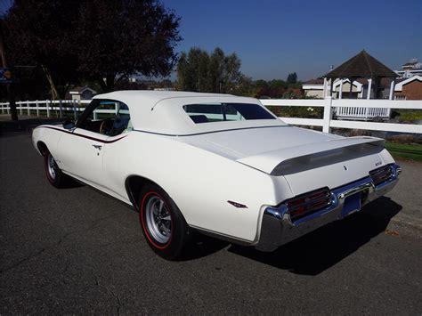 1969 PONTIAC GTO JUDGE CONVERTIBLE   180580