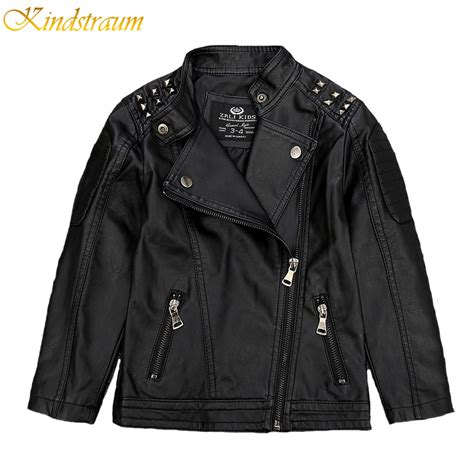 kids coats jackets for boys girls macys kindstraum 2017 new kids faux leather jackets for boys