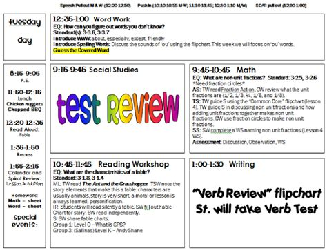 5th grade lesson plan template lesson plan template new calendar template site