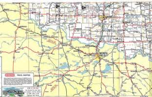 map of oklahoma border us 62 across southwest oklahoma 1975 this 1975 map of
