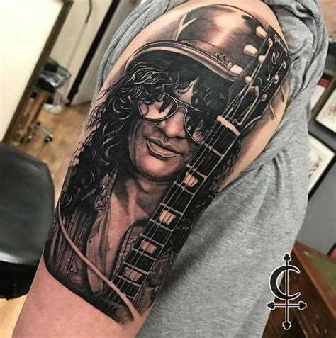 slash tattoo slash by tim childs best tattoos