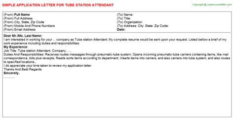 application letter station filling station attendant application letters sles