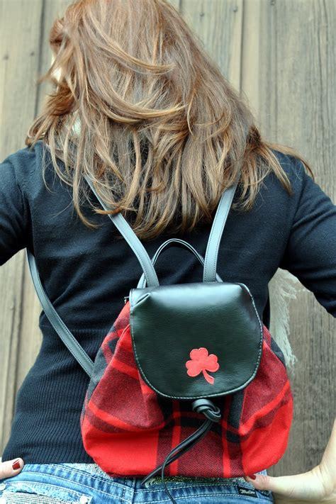 Scarlet Brown Visval Backpack scarlet clover designs november 2010