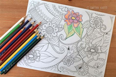 color pencil for coloring book coloring pages smiling colors