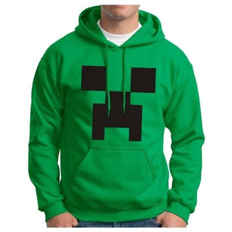 Sweater Hoodie Mine Craft creeper minecraft hoodie hooded sweatshirt ghost small coupon code 5offthis