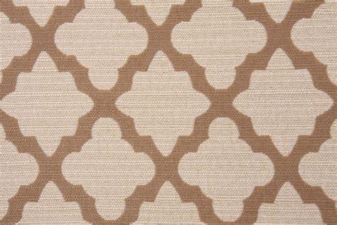 Allen Upholstery by Robert Allen Casablanca Geo Upholstery Fabric In Toffee
