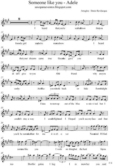 printable lyrics someone like you adele adele someone like you piano sheet music free with notes