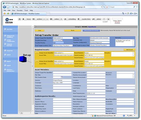 workflow management tools audioinspector workflow management