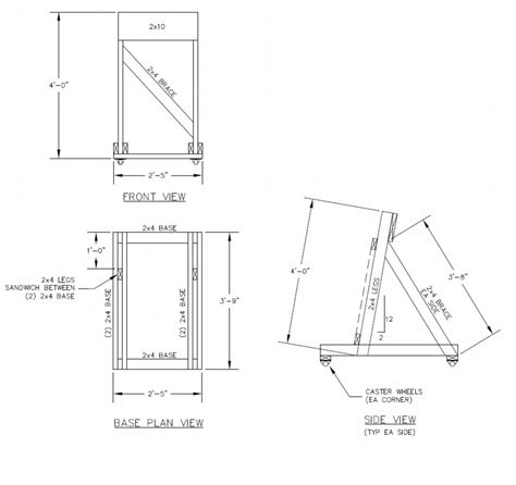 boat hull stands help me build an outboard stand the hull truth boating