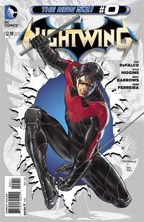 nightwing the rebirth deluxe a dc villainess enters the new 52