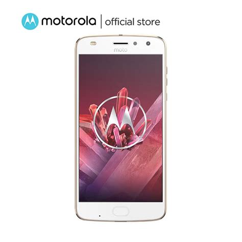 Motorola Moto Z2 Play 4 64gb Gold jual motorola moto z2 play smartphone gold 64gb
