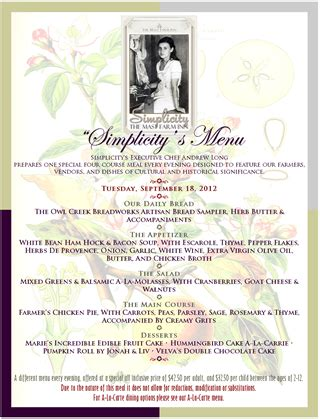 11 farm menu design images printable wedding menu