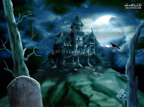 halloween haunted houses haunted house halloween wallpaper 250818 fanpop