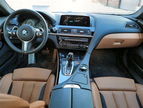 Bmw 6 Series Convertible Interior by 2016 Bmw 6 Series Road Test And Review Autobytel