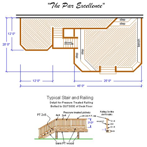 deck floor plan deck drawings newsonair org