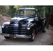 1953 Chevrolet 235 Pickup Windows All Around Excellent