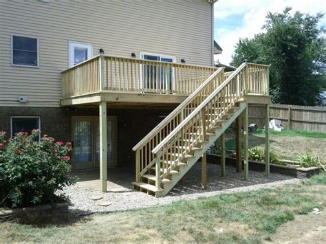 deck with walkout basement designs deck walk out basement walk out basement ideas