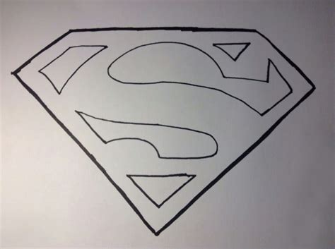 the sketchbook logo how to draw superman s logo