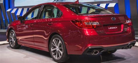 new subaru legacy 2018 2018 subaru legacy price interior exterior engine news
