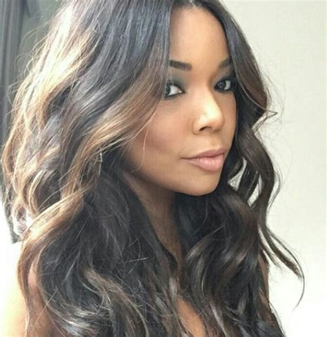 gabrielle union hairstyle hairstyles pinterest 853 best cute hairstyles images on pinterest black